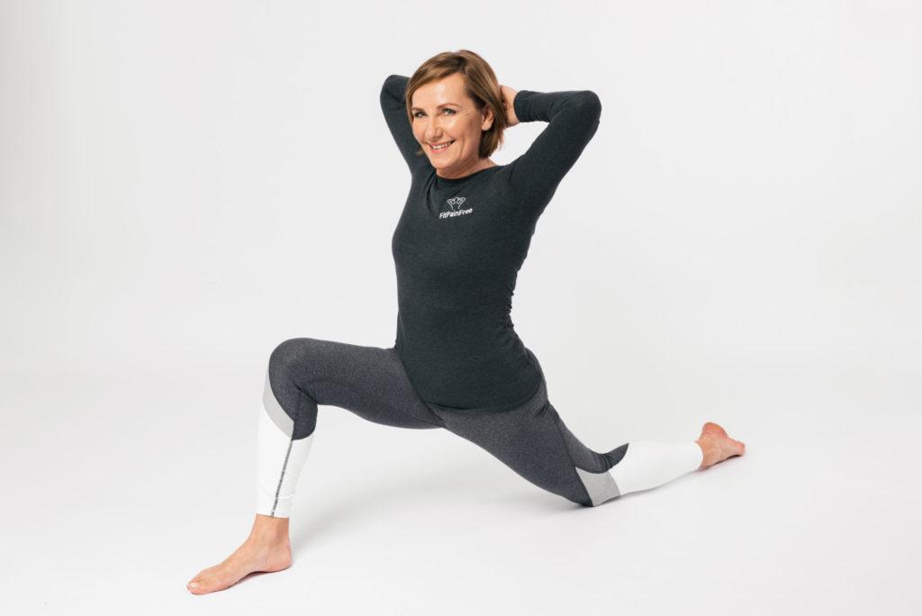 jednoduchý cvik Fit Pain Free - cvičení bez bolesti