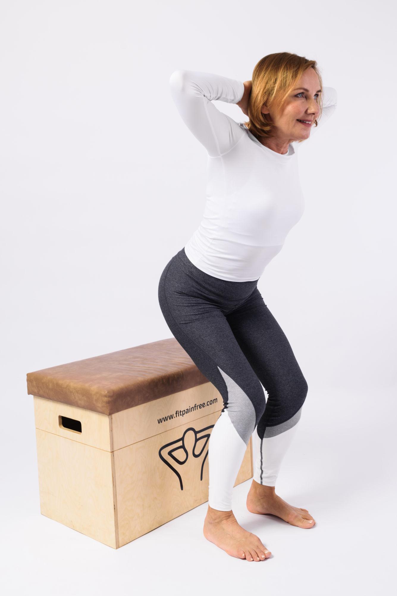 FitPainFree Hana cvičení na bedně