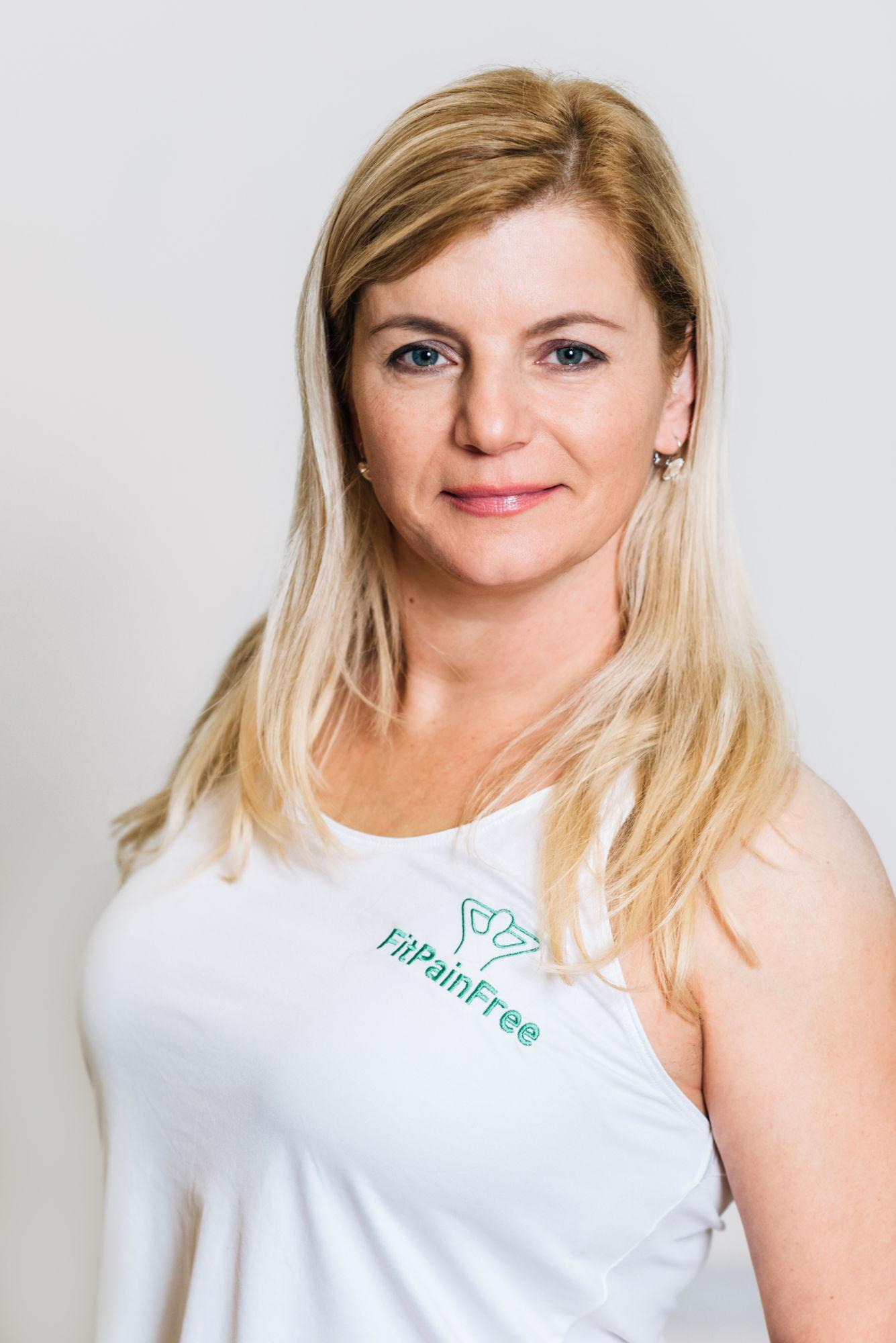 FitPainFree lektorka Eva Trhoňová